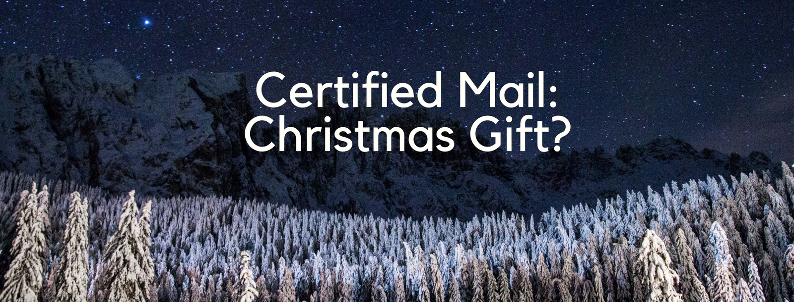 22 dec certified mail christmas gift